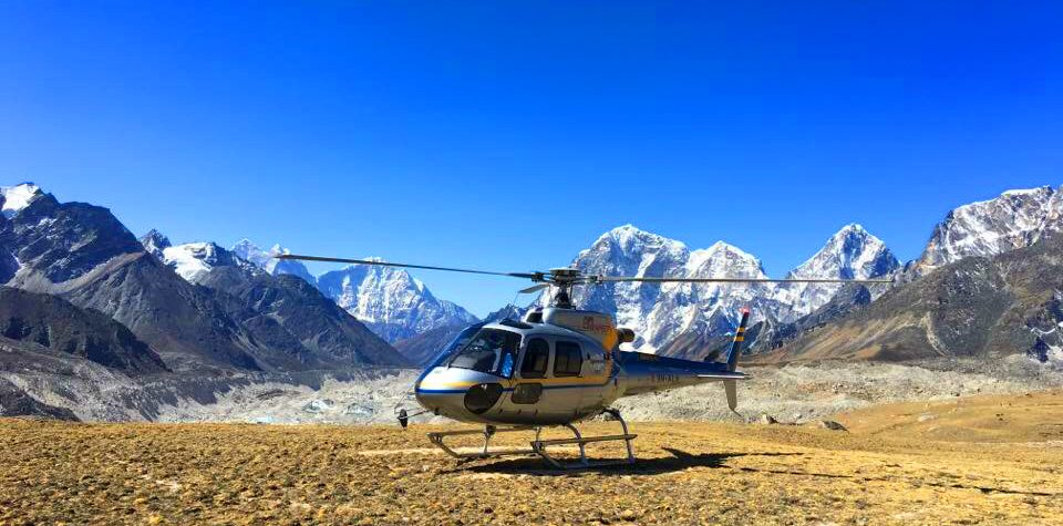 Best Everest Base Camp Helicopter tour
