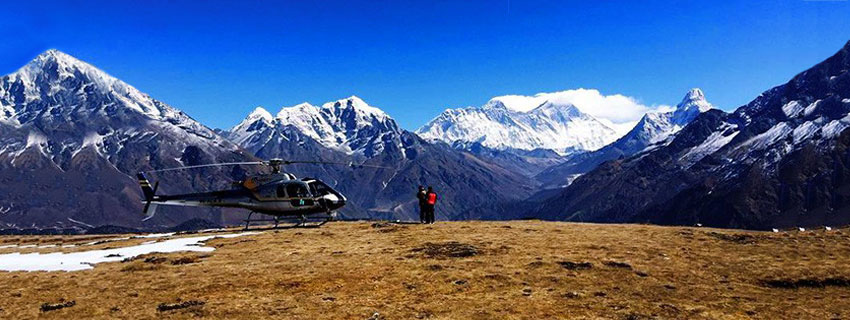 One Day Helicopter tour to Everest