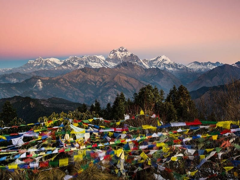 Ghorepani Poonhill Trek with Jungle Safari River Rafting and Yoga