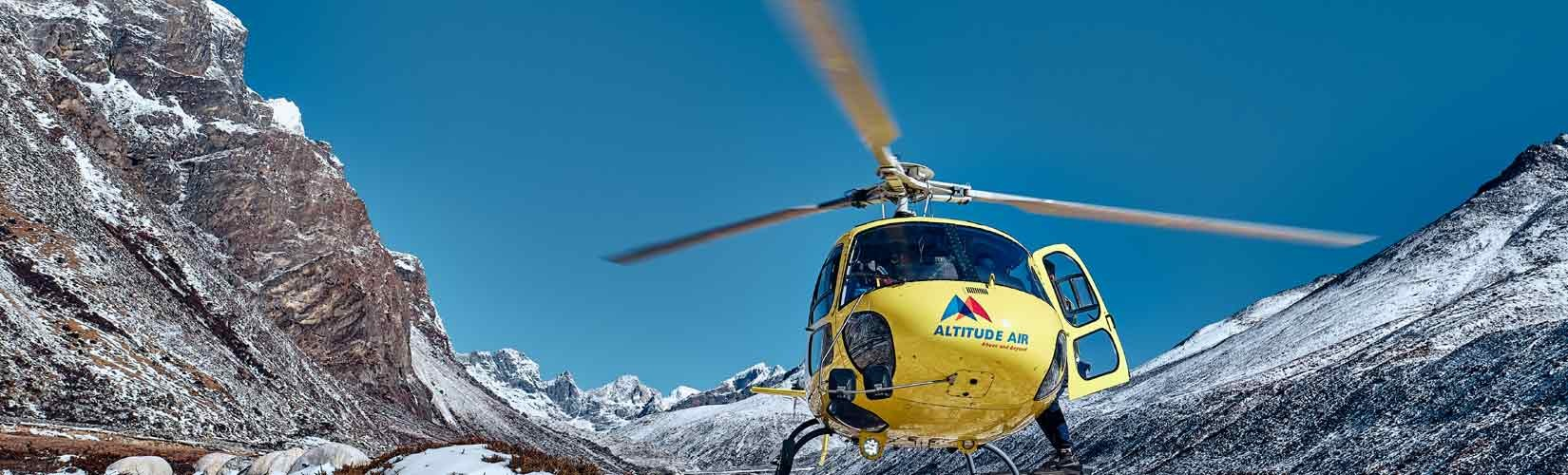 Everest View Luxury Heli Trek