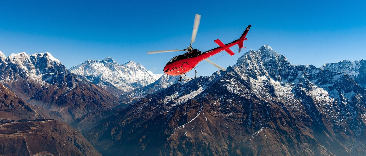 Nepal Helicopter tour and Trek - Aspiration adventure