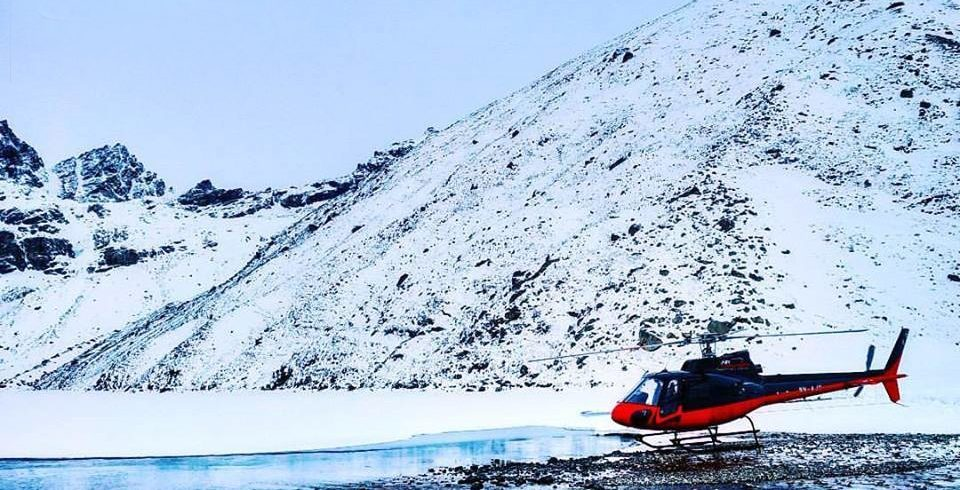 Everest Base Camp Gokyo Lakes Helicopter Tour