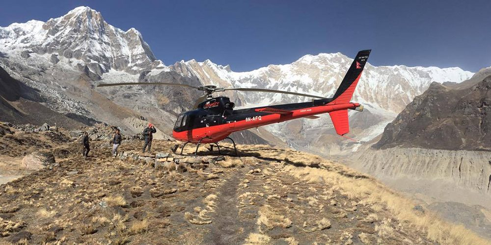 annapurna-base-camp-helicopter-day tour nepal