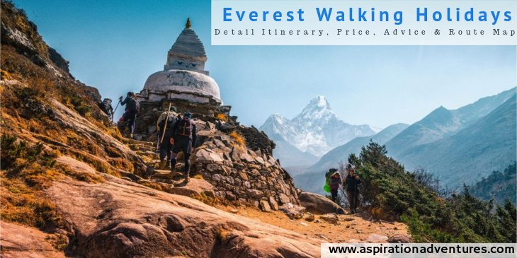 Everest Walking Holidays | Everest Trekking Holidays [With Price and Advices]